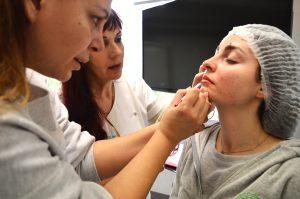Τμήμα Micropigmentation - Πρακτική εξάσκηση σε φυσικά μοντέλα