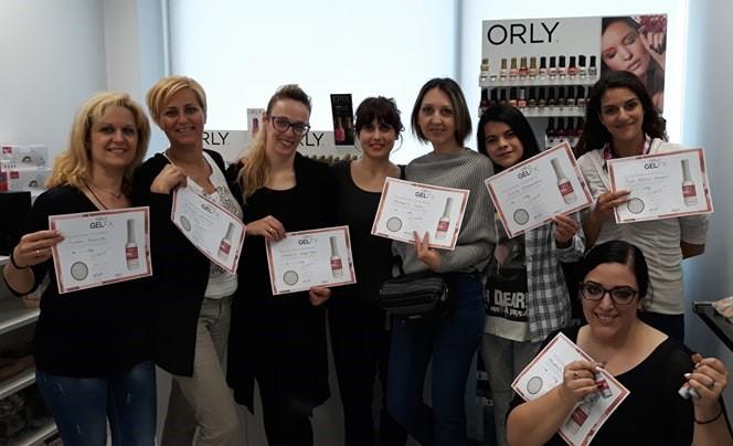 Πιστοποίηση εξειδίκευσης από την Orly International